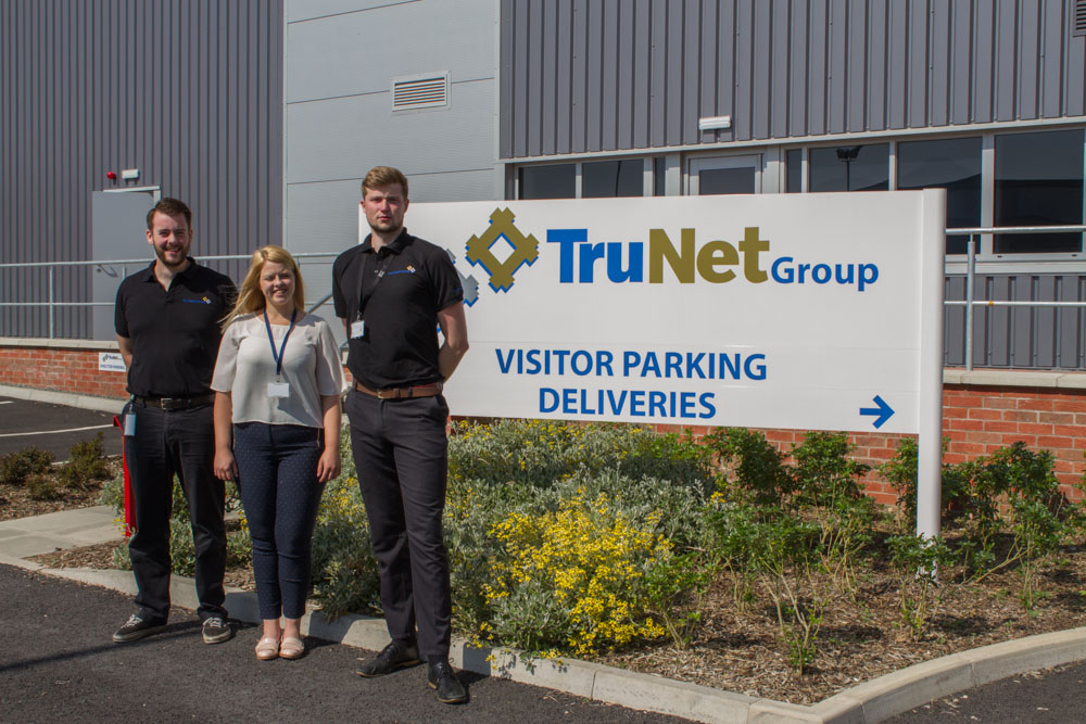 New Members of the Team join the TruNet Head Office