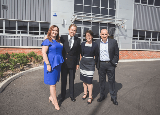 TruNet (UK) unveils new Leicestershire production plant